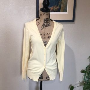 Forever 21 yellow cardigan